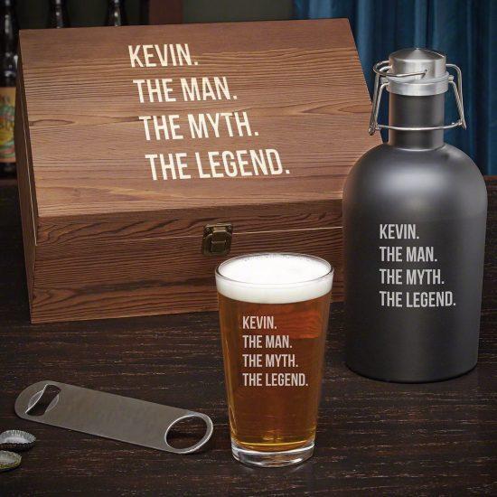 Manly Beer Growler Set