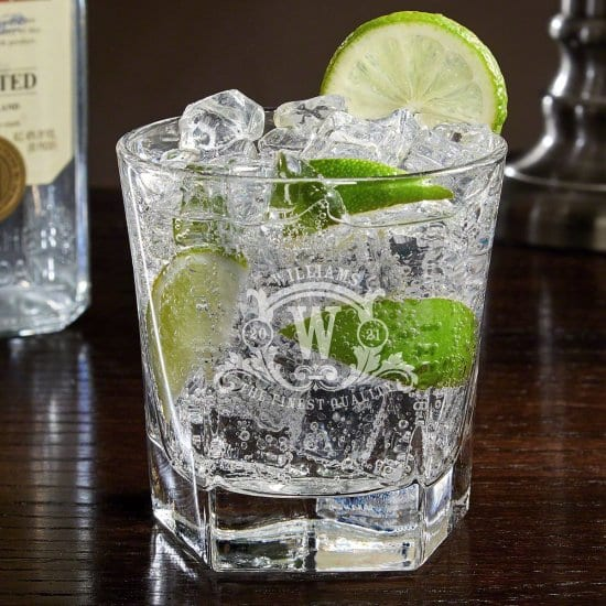 Large Double Old Fashioned Glass