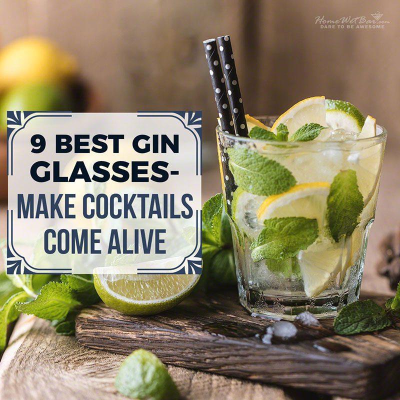 9 Best Gin Glasses - Make Cocktails Come Alive