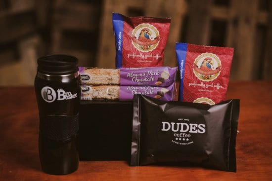 Coffee Sample and Coffee Snack Gift Set