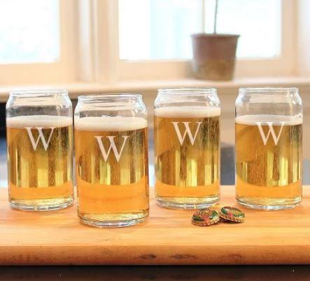 Soda-Shaped Beer Glasses