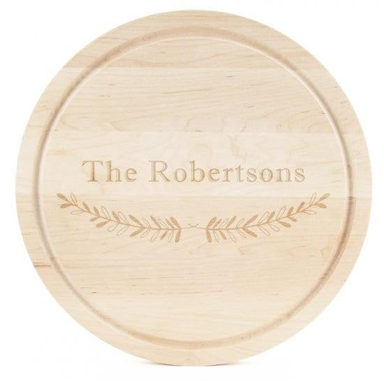 Circle Customized Cutting Board