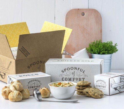Chicken Noodle Soup Care Package Idea for Boyfriend