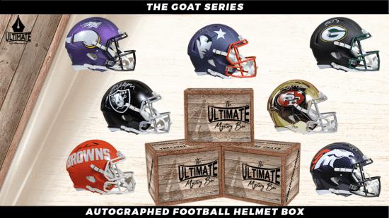 Autographed Helmet Crate