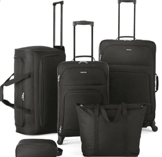 Five Piece Luggage Set