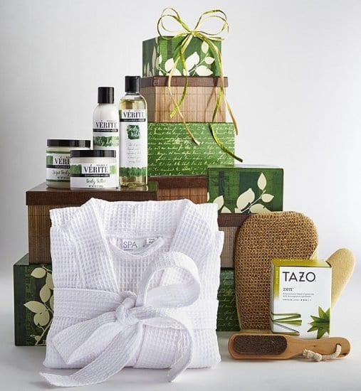 Spa Tower Care Package Idea for Boyfriend