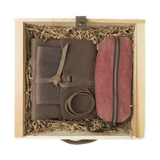 Personalized Traveling Gift Set