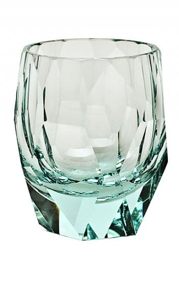 Turquoise Crystal Glass