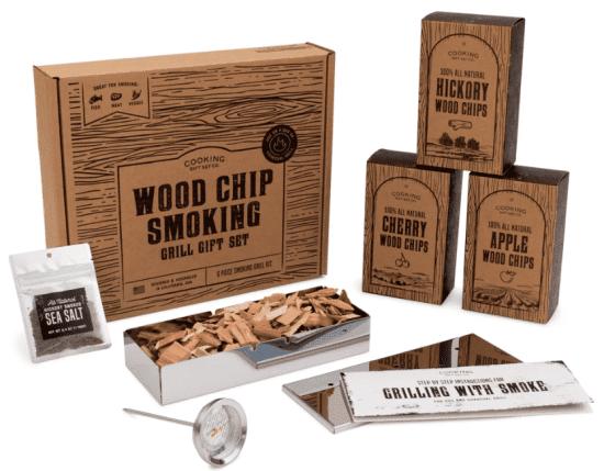 Wood Chip Smoking Grill Set