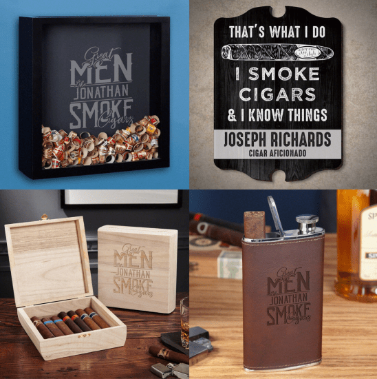 Ultimate Personalized Cigar Gift Set