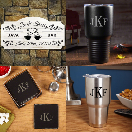 Personalized Anniversary Gifts for Coffee Lovers