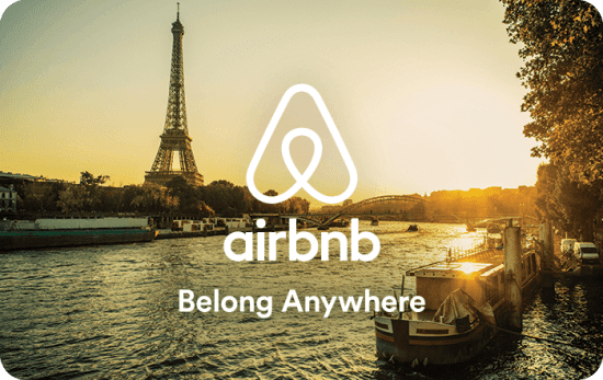 Airbnb Gift Card Gift Idea for Couples