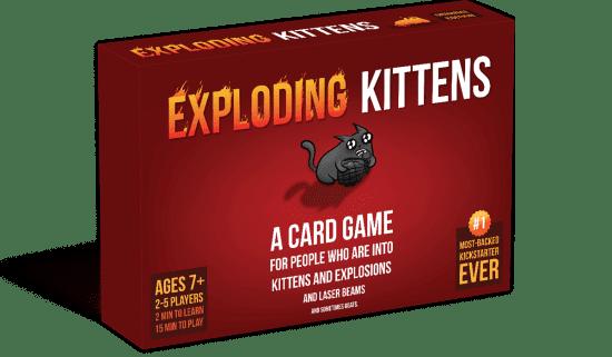 Exploding Kittens Funny Card Game