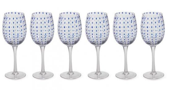 Colorful Wine Glasses Set of 4
