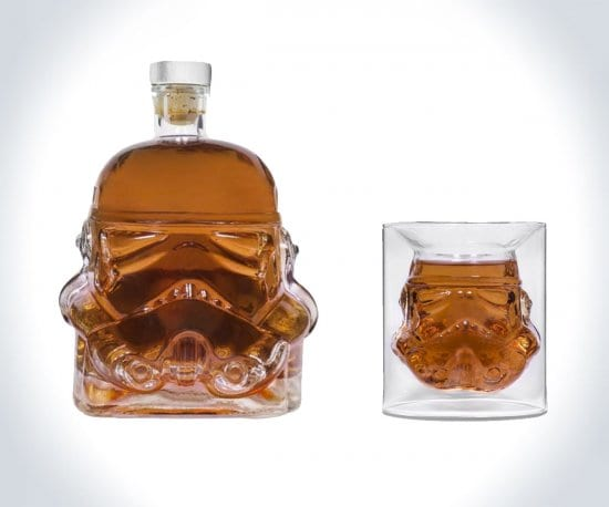 Stormtrooper Whiskey Glass and Decanter Set