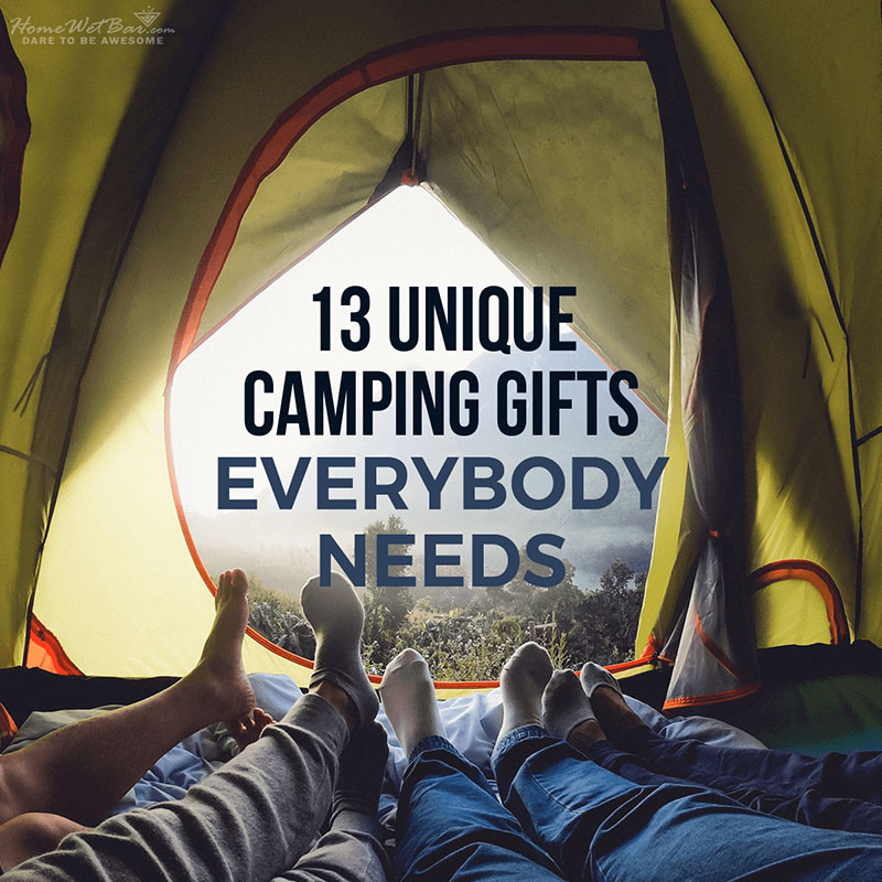13 Unique Camping Gifts Everybody Needs
