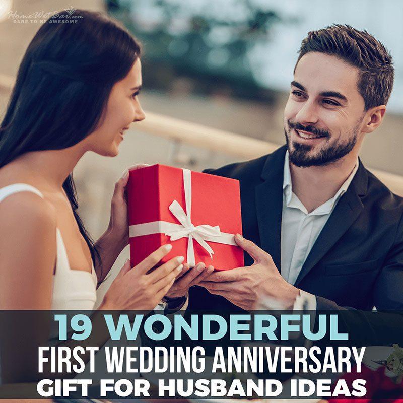 19 Wonderful First Wedding Anniversary Gift for Husband Ideas