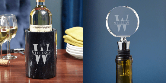Customized Wine Chiller and Wine Stopper