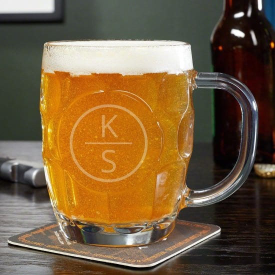 Dimpled Beer Stein