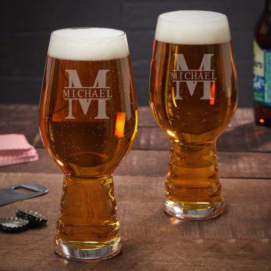 Custom IPA Beer Glasses