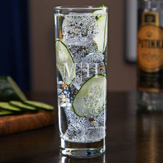 Engraved Highball Glass