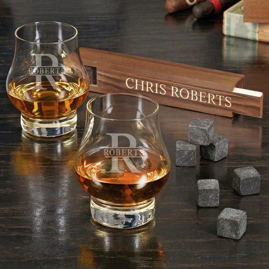 Double Bourbon Snifters