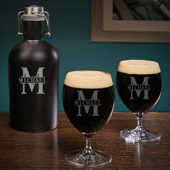Ultimate Personalized Craft Beer Glass Sets