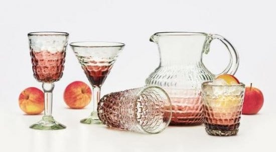 Cobblestone Bar Glassware Set