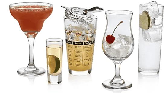 18-Piece Glassware Set
