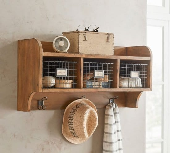 Wooden Cubby for Couples
