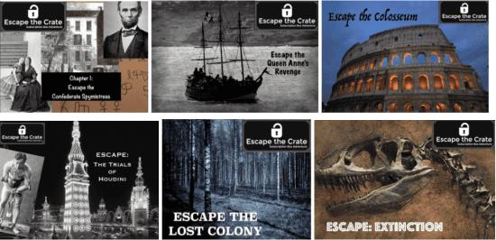 Escape Room Gift Box
