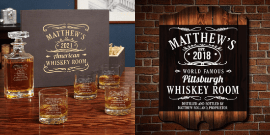 Tennessee Whiskey Gift Set