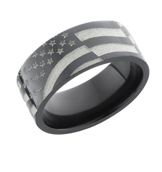American Flag Ring for Men