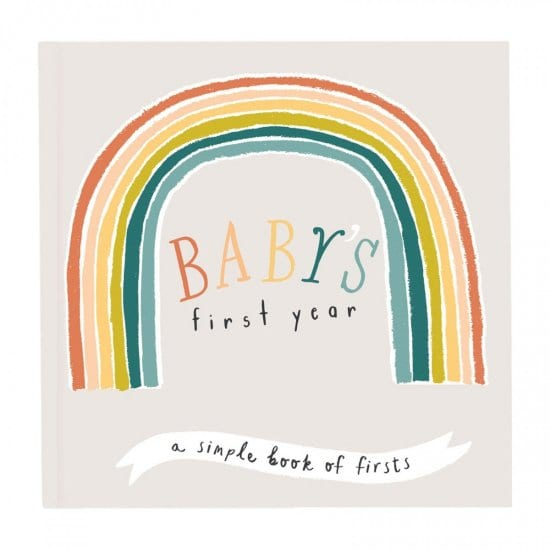 Baby's First Year Book Gift for New Parents
