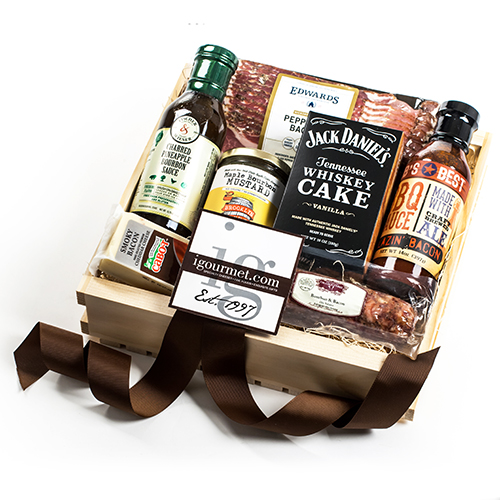 Bacon Bourbon Gift Set