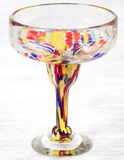 Confetti Margarita Glass