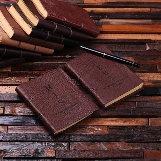 Journals for Him and Her for Valentine's Day