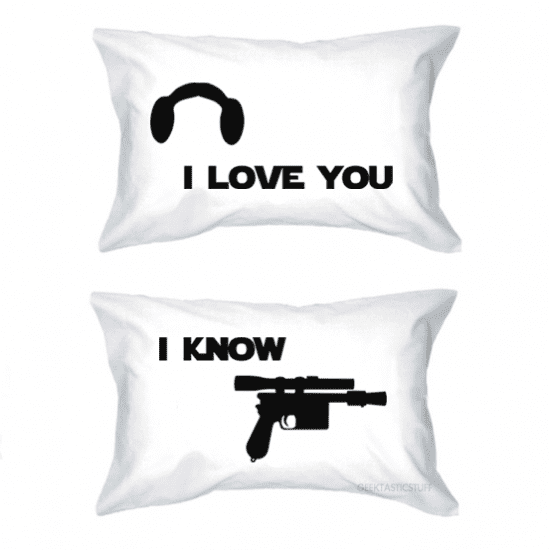 Star Wars Pillowcases Cute Valentine's Day Gifts for Him