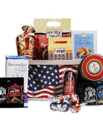 Patriotic Gift Basket