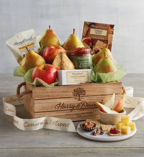 Pear Gift Basket Dad to Be Gifts