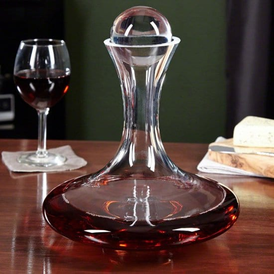 Fancy Wine Decanter Wedding Gift Idea for the Bride and Groom