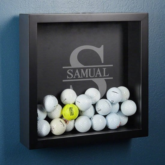 Custom Golf Ball Shadow Box