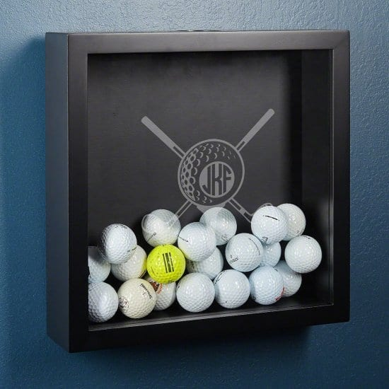 Personalized Golf Ball Collection Box