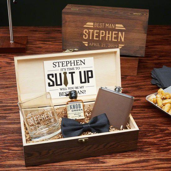 Personalized Groomsmen Gift Set How to Ask Groomsmen