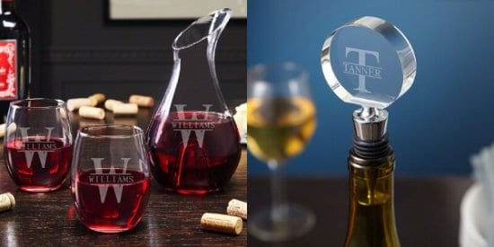 Wine Decanter and Glasses Set With Stopper