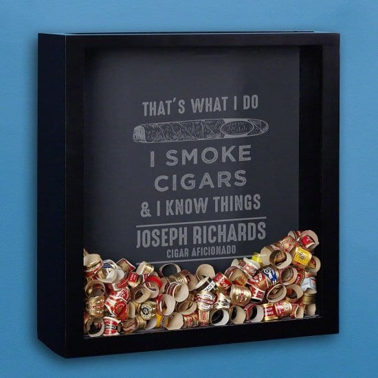 Funny Cigar Band Display