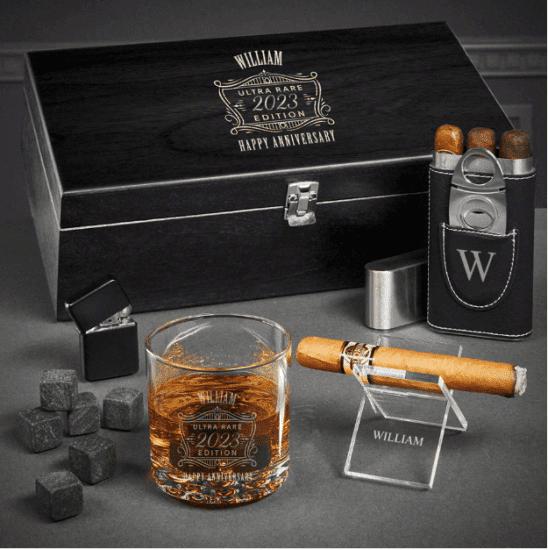 Scotch and Cigar Gift Set