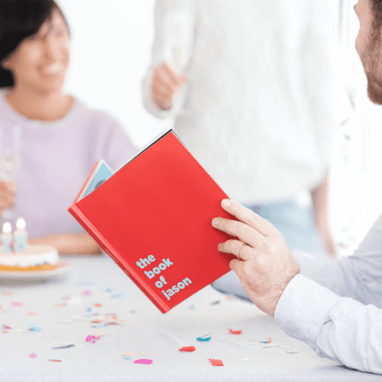 Customizable Birthday Book
