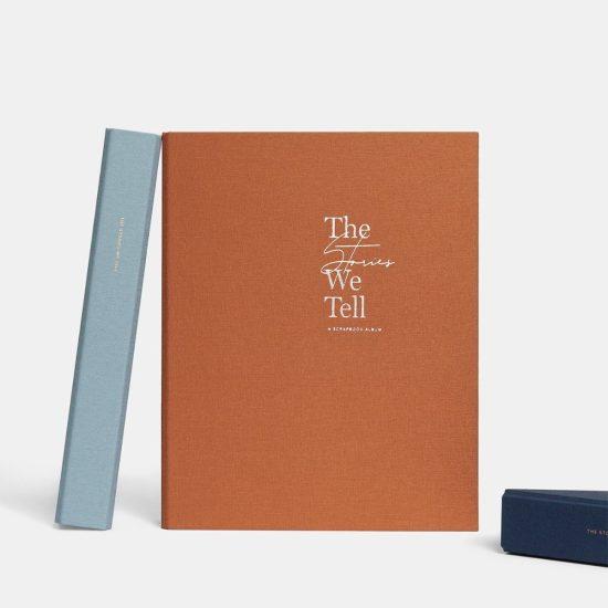 Photo Scrapbook Album Engagement Gift