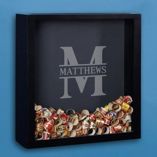 Shadow Box Gift Idea for Fathers Day